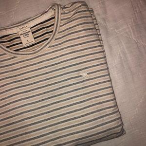 *ABERCROMBIE MENS* Striped Long Sleeve Shirt
